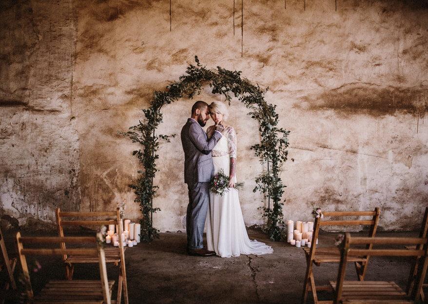 Cómo decorar la ceremonia de mi boda en 5 pasos