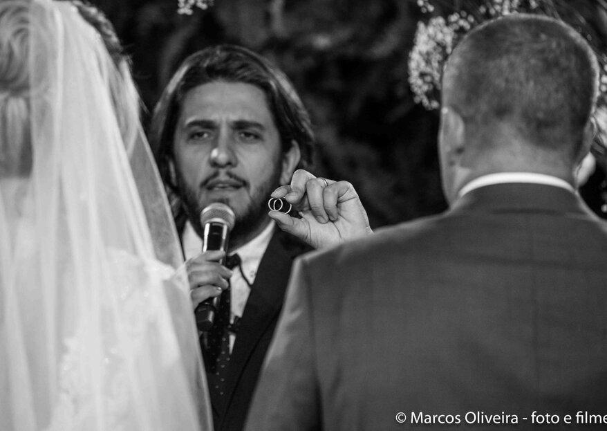 Luciano Toledo: um celebrante, um propósito - ajudar pessoas a encontrarem sua maneira de construir uma família baseada no amor e a serem mais felizes.