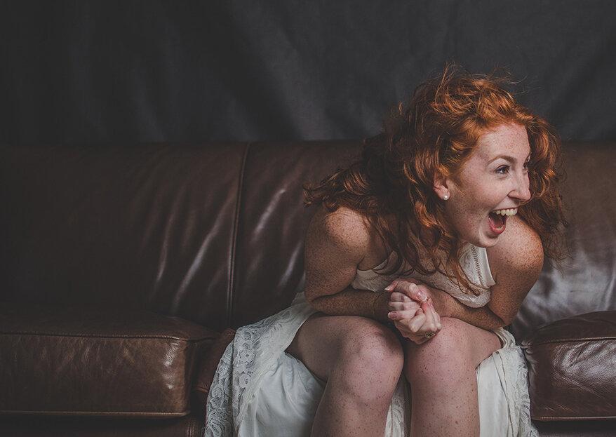 Noiva com sardas: deve tapá-las ou não?