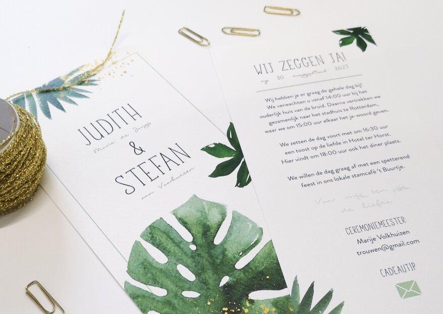 Hoe kun je de trouwuitnodigingen het beste personaliseren?