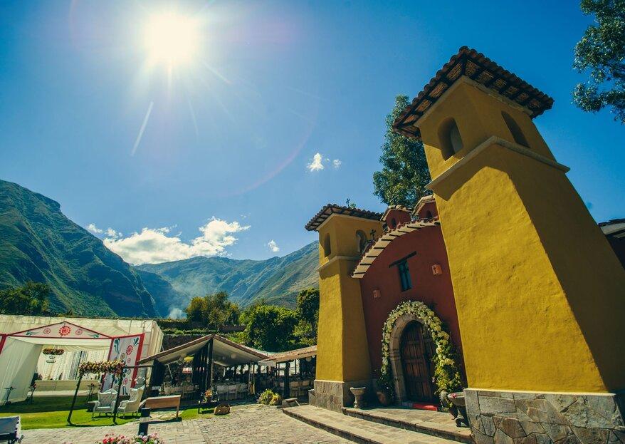 Sonesta Posadas del Inca Valle Sagrado - Sacred Valley Yucay: un lugar con historia para tu boda