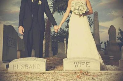 'Til' Death Do Us Part' Cemetery Wedding Trend: Creepy or Cool?
