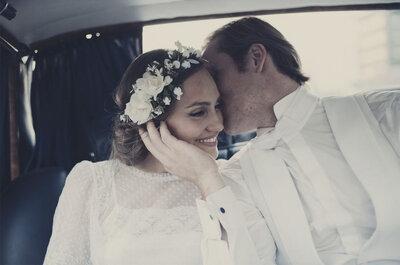 Cómo hacer una boda sin que parezca una boda