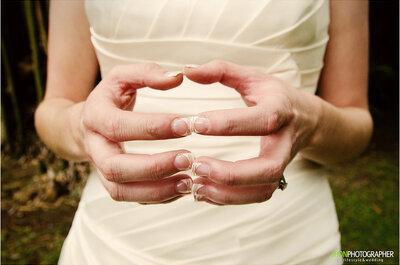 Buntes Nageldesign für die Braut