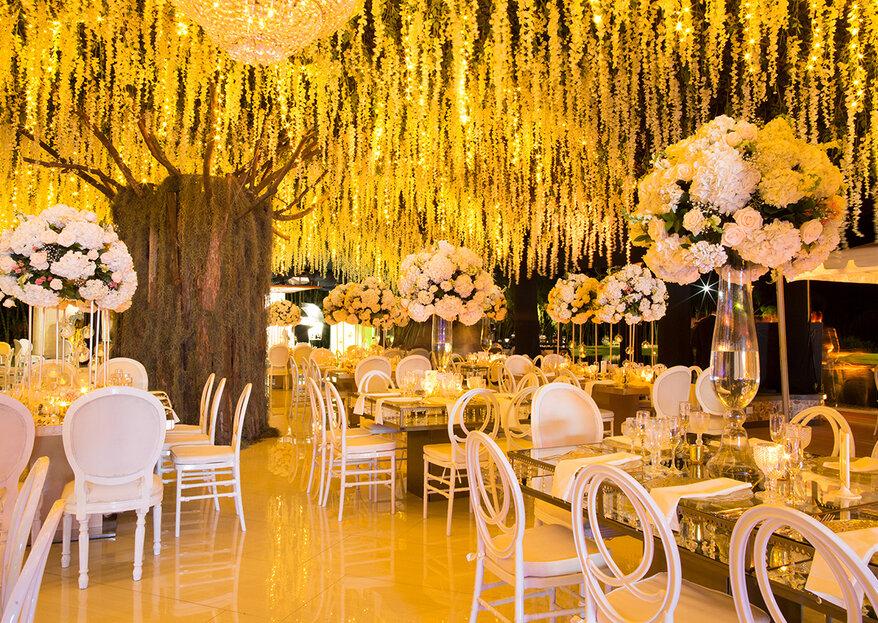 Amparo Arboleda transforma tus ideas en una boda mágica con mucho estilo