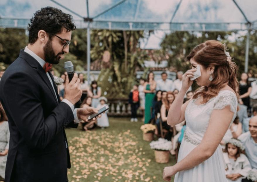 7 votos de casamento inspiradores que vão te emocionar!