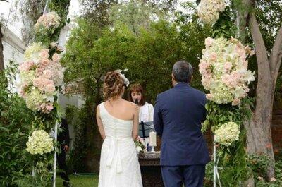 Cómo decorar el altar de tu boda: los expertos sugieren
