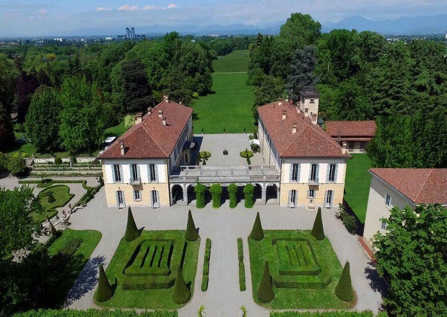 Villa Trivulzio di Omate: gemma architettonica per il tuo grande giorno