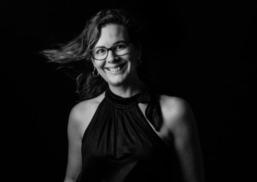 Portrait de Stéphanie, une créative et pétillante wedding planner de l'agence Enjoy Evénements