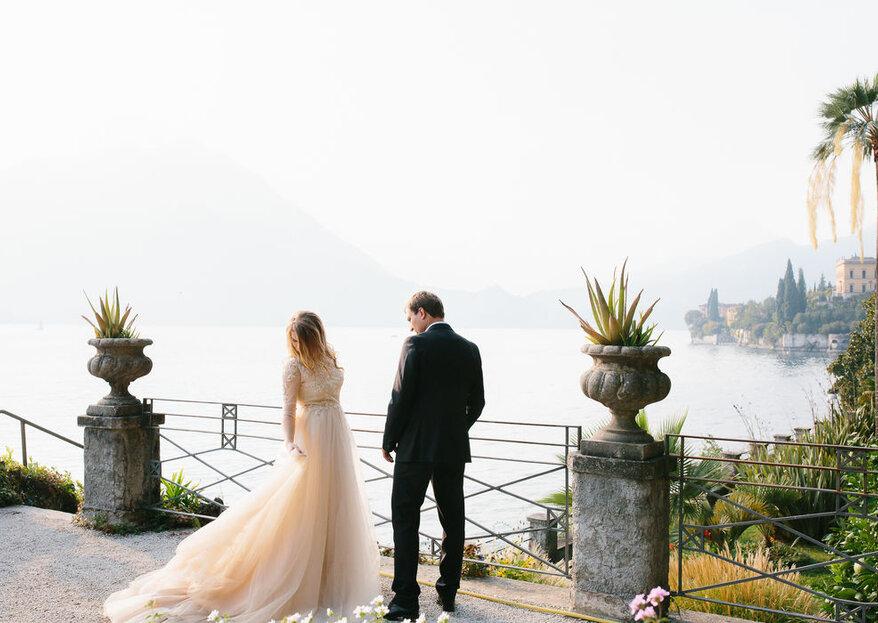 Abiti da sposa color champagne, i più belli del 2019