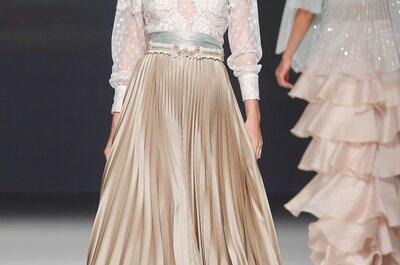 ¿Te atreves con un color distinto al blanco para tu vestido de novia?
