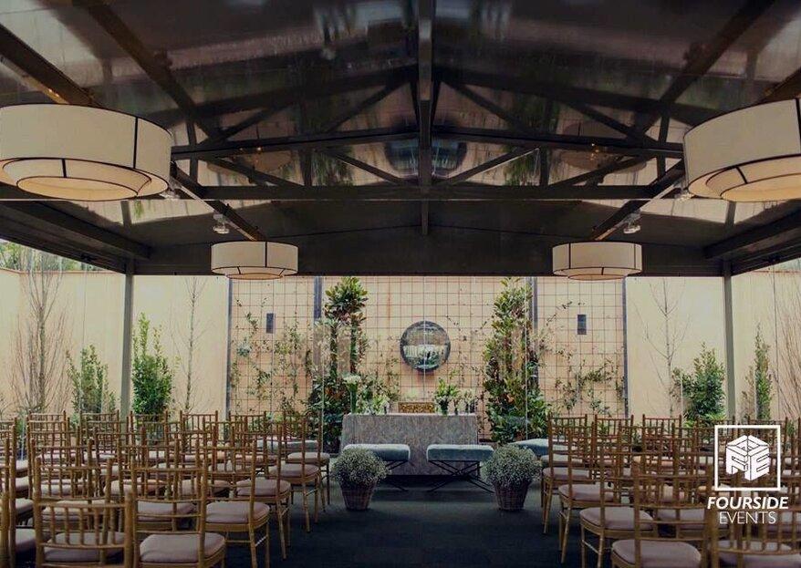 Que la fiesta no pare en vuestra boda con Fourside Events