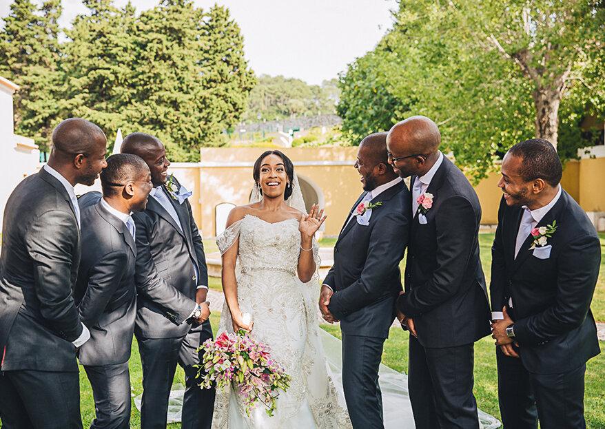 Atenção, atenção: 5 coisas que NÃO se dizem aos NOIVOS no dia do casamento!