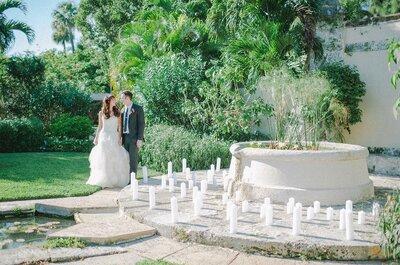 Decídete por la calidez de las velas para decorar tu boda