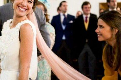 Velos de color para la novia. ¡Inspírate con estas ideas!