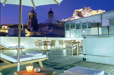 Los 8 mejores hoteles para bodas de Alicante