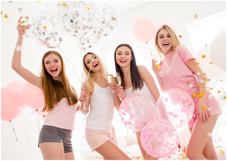 6 planes de despedida de soltera para brillar como organizadora y disfrutar como novia