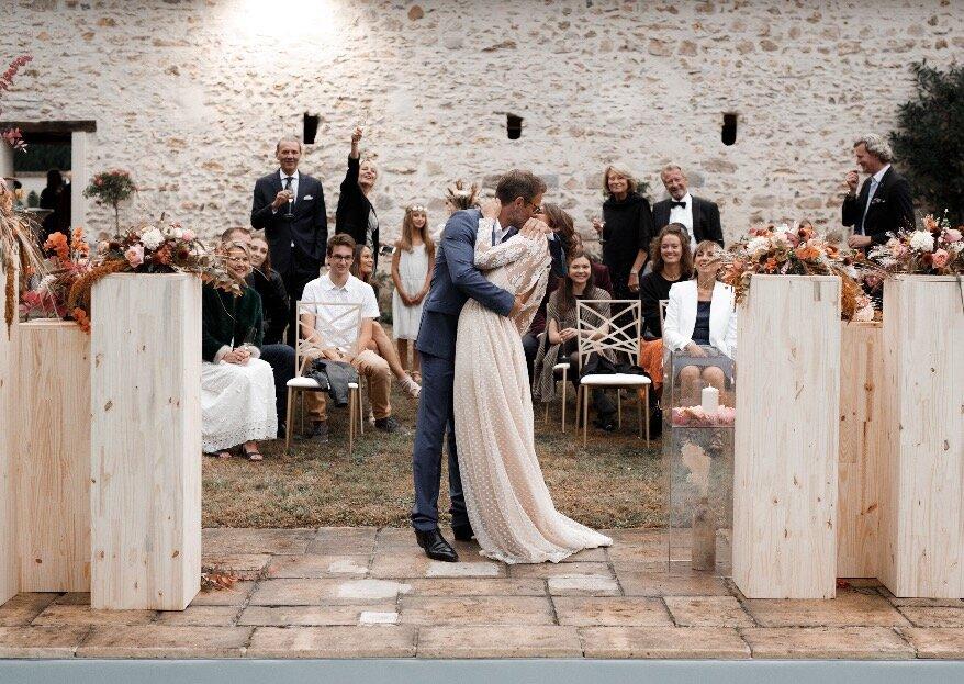 Au Domaine de la Thibaudière, votre mariage automnal se dessine...