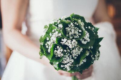 Flores de otoño para tu ramo de novia