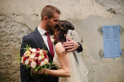 Jenna et Brendan : un magnifique mariage à flanc de montagne