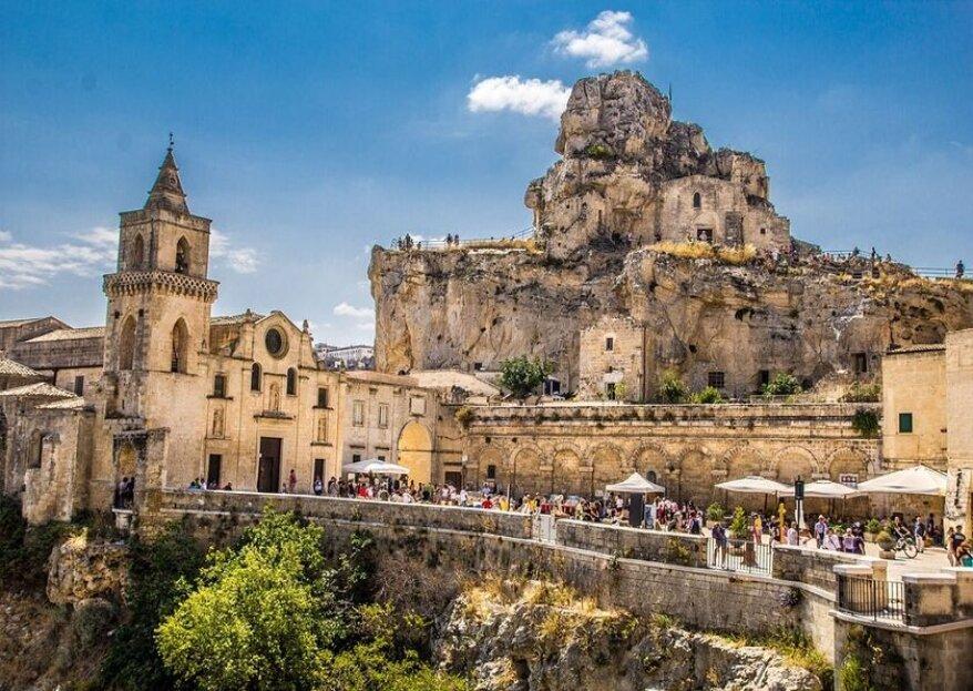 In Basilicata, in sud Italia e nel mondo, il viaggio di nozze che hai sempre sognato con Elle Viaggi Tour Operator
