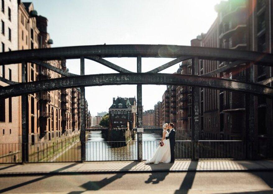 10 geniale Hochzeitslocations in Hamburg - Verwirklichen Sie Ihren Hochzeitstraum in der Hansestadt!