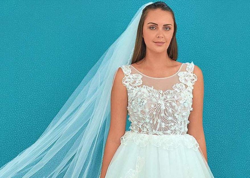 Elena Reynoso: vestidos de alta costura para novias elegantes