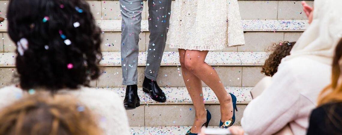 1000 colori per le scarpe da sposa di quest'anno: che ne dici?