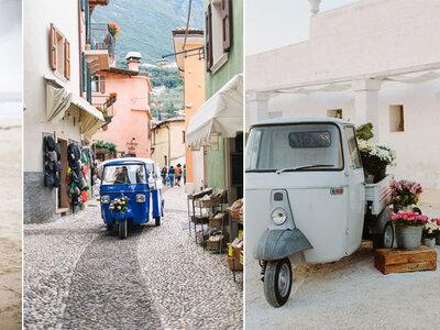 Triciclo Piaggio, a mais recente tendência para casamentos
