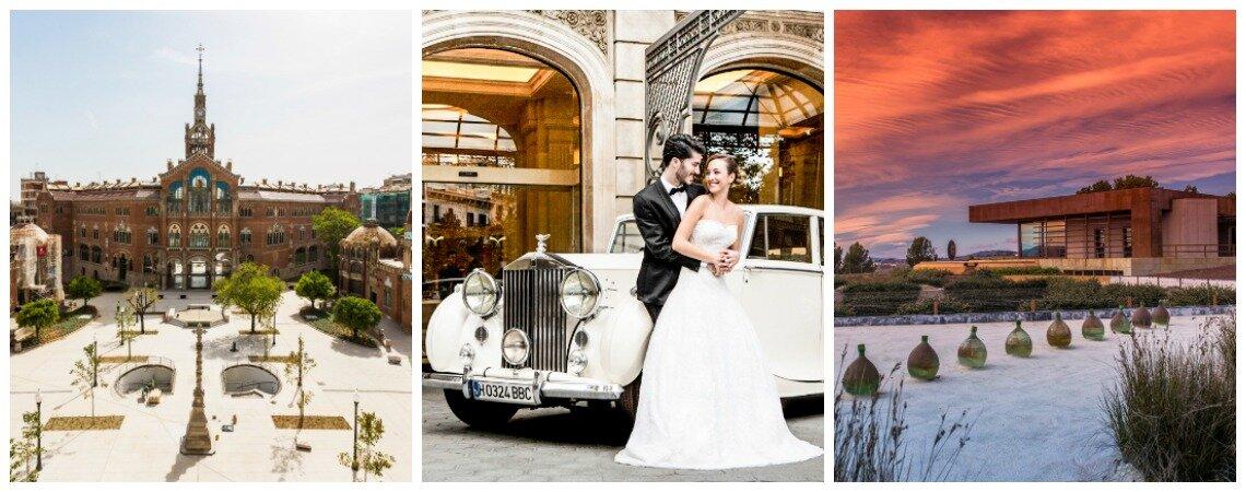 Barcelona, ein traumhaftes Ziel für unvergessliche Destination Weddings in Spanien