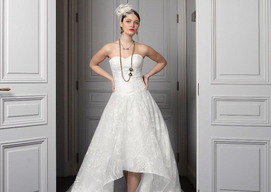 Et si la robe de votre grand jour se trouvait chez Les Mariées de Talia ?