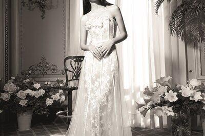 Yolan Cris presenta su nueva colección de vestidos de novia en la LBFW 2015