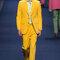Żółty garnitur dla Pana Młodego, Foto: Etro Primavera/Verano 2015