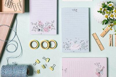 12 listas que TODA novia debe hacer antes de la boda