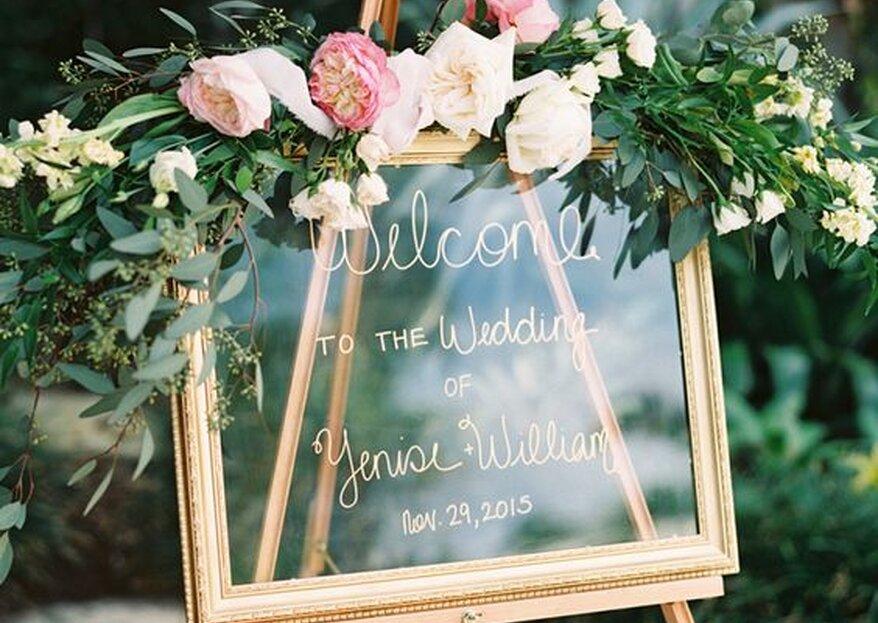Los 4 formatos de indicadores que solo los novios con estilo quieren para su boda