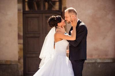 Sophie et Anthony : un mariage romantique dans les Vosges dans les tons rose pastel et blanc