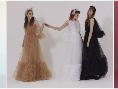 22 gekleurde bruidsjurken! Wees een bruid die je gasten nooit meer vergeten