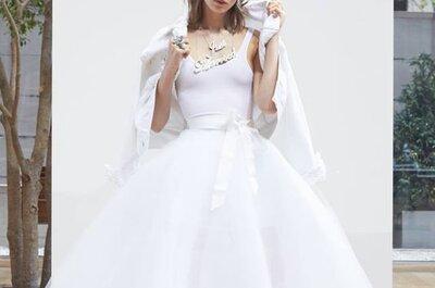 Oscar de la Renta crée une robe de mariée inspirée de Carrie Bradshaw