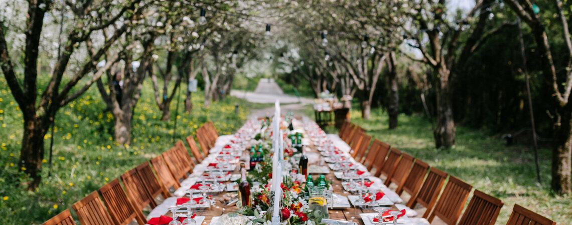 Die passende Tischform für Ihre Hochzeit auswählen – Profi-Tipps von your perfect day