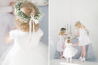 Wie man den Kindertisch auf der Hochzeit schmückt! Das freut auch die kleinen Hochzeitsgäste