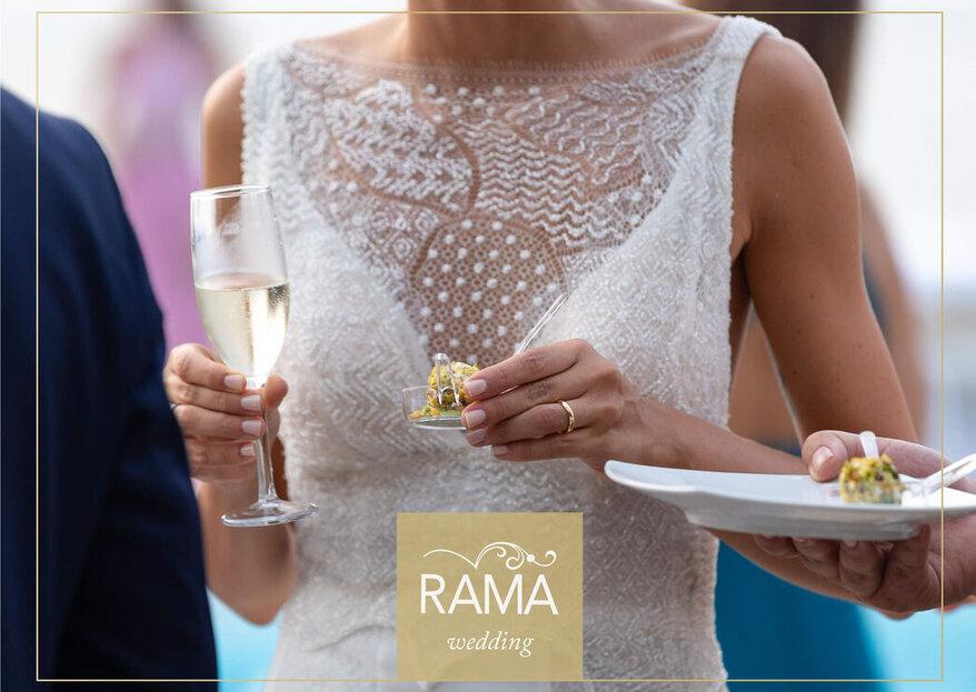 Rama Eventi: l'essenza di un matrimonio perfetto dalla location alla gastronomia...