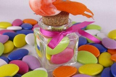 Dragées colorées, savoureuses et en nombre pour votre mariage !