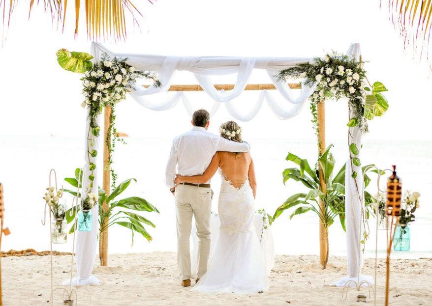 MMS Events Planner nos explica cuatro detalles infaltables en tu boda destino en San Andrés
