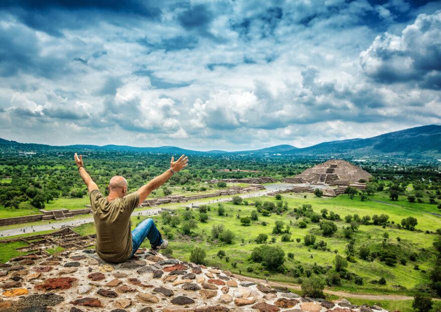 Disfruta de tu luna de miel en México: naturaleza, sabor y alegría