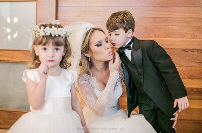 8 ideias GENIAIS para que os seus filhos participem ATIVAMENTE do seu casamento!
