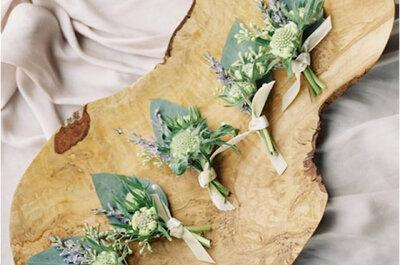 Tendencias decoración floral de tu boda en 2017