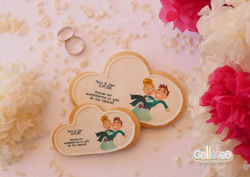 Galletea es el toque dulce que necesitas para que tu boda se llene de sabor y color