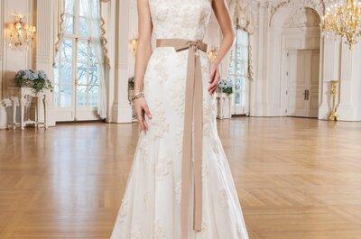 Vestidos de novia Lillian West 2015: El cuento de hadas por fin se hace realidad… ¡Confecciones preciosas!