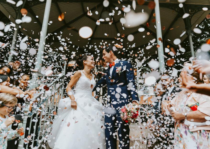 Estelle et Adrien: un mariage mixte, festif et inspirant !