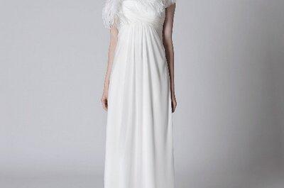 Nueva colección de vestidos de novia Alberta Ferretti 2012